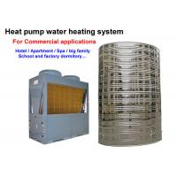 Quality 220V / 380V Commercial Heat Pump Water Heater Lower Energy Consumption for sale