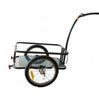 "Quality Plastic 16X1.75"" wheels Bicycle Cargo Trailer with steel frame for sale"