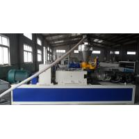 Quality Window and Door Frame Plastic Profile Extrusion Line , Ceiling / Couch Profile Machine for sale