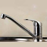 Quality Ceramic Disc Valve Single Handle Bathroom Faucet Hot / Cold Mixer for sale