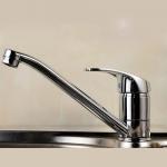 Quality Ceramic Disc Valve Single Handle Bathroom Faucet Hot / Cold Mixer for sale