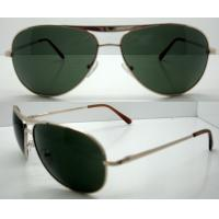 Quality Hand Made metal Frame Sunglasses For Glare Reduce for sale
