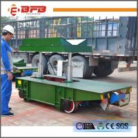 Quality V Deck Box Beam Strucrture Industrial Field Customized Rail Lifting Trailer for sale