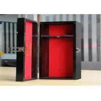 Quality Personalized Environment Friendly Luxury Wood Jewelry Display Boxes With Lock for sale