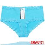 Quality 2015 New plain laced cotton boyleg cotton Damenunterhosen brief sexy women underwear stret for sale