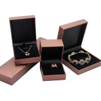 Buy Handmade Recycled Cardboard Jewelry Boxes Bracelet Packaging Box Simple Design at wholesale prices