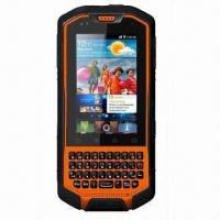 Quality Rugged 3G Touchscreen Smartphone with Walkie Talkie, Dual SIM, Android OS and IP67 Waterproof Grade for sale