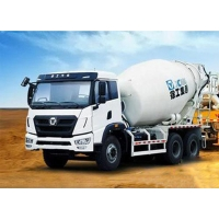 Quality 250kw 9m3 Transit Mixer Truck Road Construction Machinery for sale
