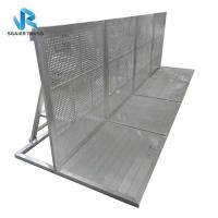 Quality Aluminum Alloy Crowd Control Barrier With Security Step 1200 * 1000 * 1200mm Size for sale