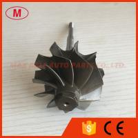Quality GT2835R 51.80/56.55mm 10 blades ball bearing turbo turbine wheel shaft / turbine shaft&whe for sale