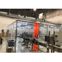 Quality E Cigarette Production Plexiglass Wall Softwall Clean Room for sale