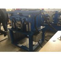 Quality Hydraulic Downpipe Roll Forming Machine Bending Elbowing PLC Control Box for sale