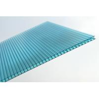 Buy cheap Waterproof Blue Polycarbonate Sheet / Double Wall Polycarbonate Greenhouse from wholesalers