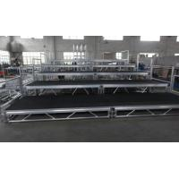 Quality Toughened Glass Movable Stage Platform / Temporary Stage Platforms for sale