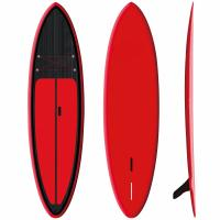 """Quality Red Inflatable SUP Board 9'6"""" Firberglass Plate Design Fast Speed High Durability for sale"""