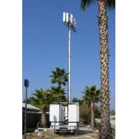 Quality Vehicle Mounted Pneumatic Telescopic Mast Mobile Light Tower With tripod for sale