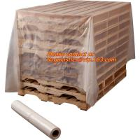 Quality Pallet Cover, plastic Pallet bag,reusable pallet cover, clear plastic flat bottom bag pallet cover proof dust cover furn for sale