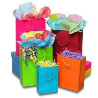 Quality Matte Laminate Jewelry Gift Bags / Custom-printed Jewellery Paper Bag for sale