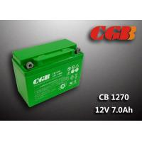 China Rechargeable Lead Acid Battery CB1270MC 12V7Ah Backup UPS Motorcycle Application on sale