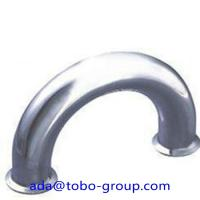 Quality Butt Welding Pipe Fittings Carbon Steel Elbow 180 Elbow For Petroleum , Chemical for sale