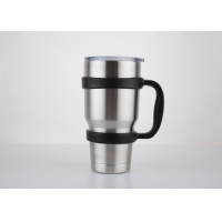 Quality Double Wall 800ml 100x200mm Insulated Vacuum Travel Mug for sale
