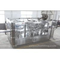 China Automatic water bottling plant use 3-in-1 monoblock rinsing-filling-capping machine on sale