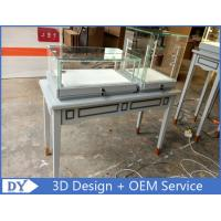Buy Modern Gray Glass Jewellery Display Counter With Spot Lights at wholesale prices