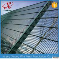 Quality High Security Double Wire Fence Easily Assembled Dutch Weave Style for sale