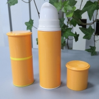 Quality Jl-Ab122 PP 15ml 30ml 50ml Airless Bottle with Screw Airless Pump for sale