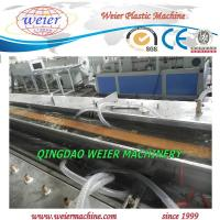 Quality 37kw Motor Conical Double Screw Extruder WPC Profile Extrusion Machine for sale