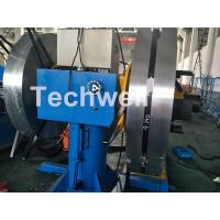 Quality Rotary Double Head Uncoiler / Decoiler Machine With Manual Or Hydraulic Type for sale
