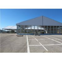 Quality 25m * 30m Permanently Installed Glass Wall Tents For Commercial Ceremony for sale