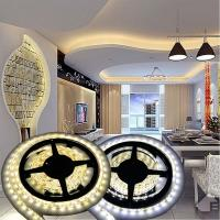 Buy cheap 12V Non-waterproof 5050 LED Strip Light for Home Decoration 5M 300 LEDs Warm/Cool White from wholesalers