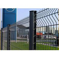 Quality Welded 3D Security Fence With Reinforcing Fold For Farm Fencing for sale