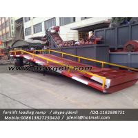 Buy cheap moveable Dock Ramp,hydraulic ramp for forklift,hydraulic loading platform from wholesalers