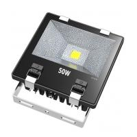 Quality Ultra Bright 50W COB Waterproof LED Flood Lights With Tempering Glass Cover for sale