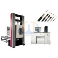 Buy cheap High Performance Electronic Universal Testing Machine , Tensile Testing Machine GB/T228-2002 from wholesalers
