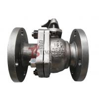 Quality Stainless Steel Soft Seated Ball Valve , CF8M Manual Ball Valve FB 150LB for sale