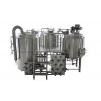 China 10BBL - 30BBL 25% Head Space at Minimum 3 Vessel Brewhouse for Craft Beer Brewing on sale