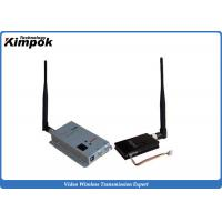 Quality 8 Channels Long Range Wireless Video Sender 2.4Ghz Video Transmitter and Receiver 1500mW for sale