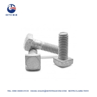 Quality Square MB 11.5KN Galvanized Bolts And Nuts for sale