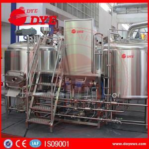 Buy 300 L Micro Beer Brewery Equipment Homebrew Beer Making Machine at wholesale prices