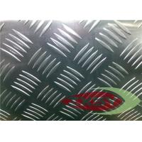 Buy Professional Flat Clean Aluminium Checkered Plate , Aluminum Tread Plate at wholesale prices