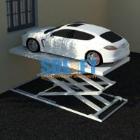 Quality 3T 5.6M Hydraulic Scissor Car Lift For Home Garage Portable / Heavy Duty Scissor Lift Table for sale