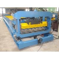 Buy cheap 1250mm Metal Roof Tiles Making Machine Plated with Chrome on Surface from wholesalers