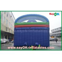 Quality Kid Pvc Tarpaulin Jumping Bouncer Castle Inflatable With Water Slide for sale