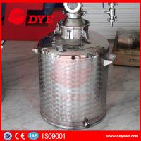 Buy reflux vodka distiller 6plates copper column distill equipment home alcohol at wholesale prices