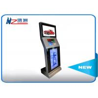 Buy cheap Automatic Touch Screen Information Kiosk Operated Tap Hotel Lobby With Cash from wholesalers