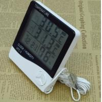 China Indoor / Outdoor Digital Hygrometer Temperature Thermometer LCD Display Humidity Hygrometer on sale