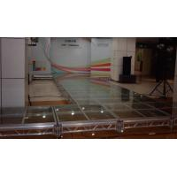 Quality T Shape Acrylic Stage Platform / Portable Aluminum Catwalk Stage for sale